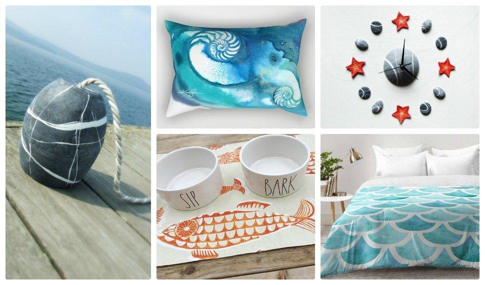 Arredare casa al mare copiando la natura sognoametista - Arredamento per casa al mare ...