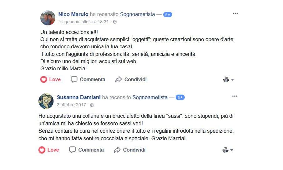 feedback Sognoametista FB