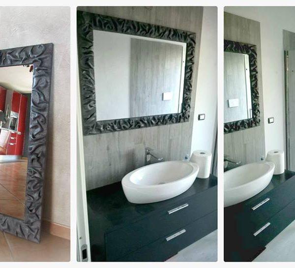 Specchi particolari: idee arredamento per un bagno moderno