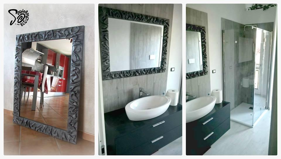 Specchi particolari idee arredamento per un bagno moderno - Specchi particolari per bagno ...