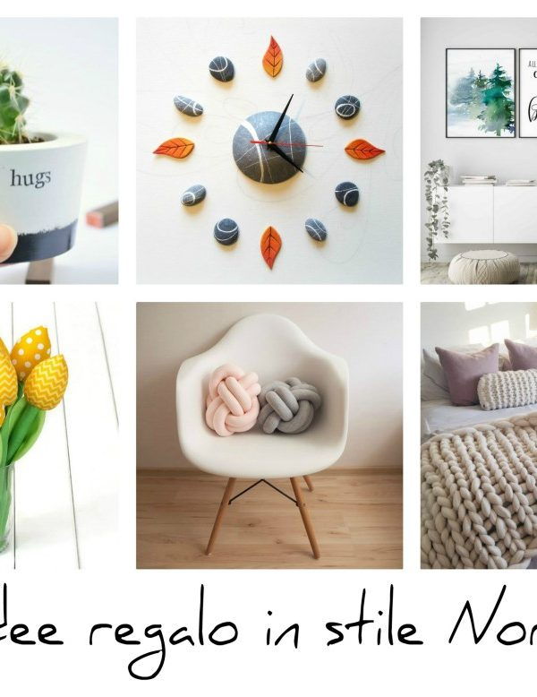 10 idee regalo Handmade per la casa in stile nordico