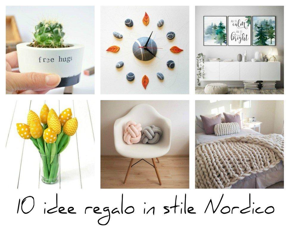 Stile nordico 10 idee regalo handmade per la casa for Idee regalo per la casa