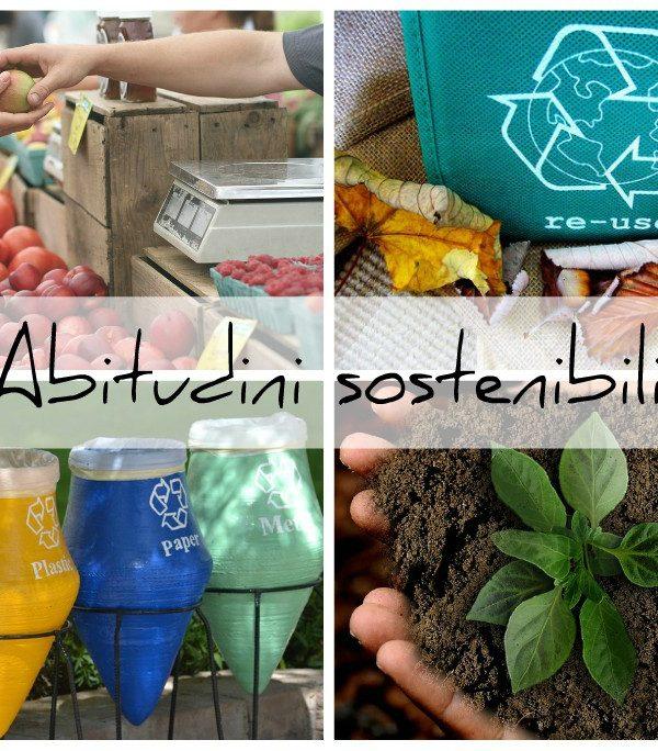 Consumo consapevole, abitudini sostenibili per amore della terra