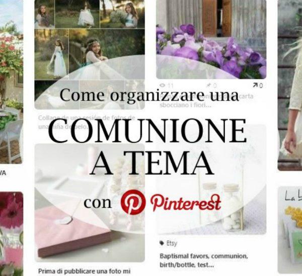 Come organizzare una comunione perfetta, a casa tua!