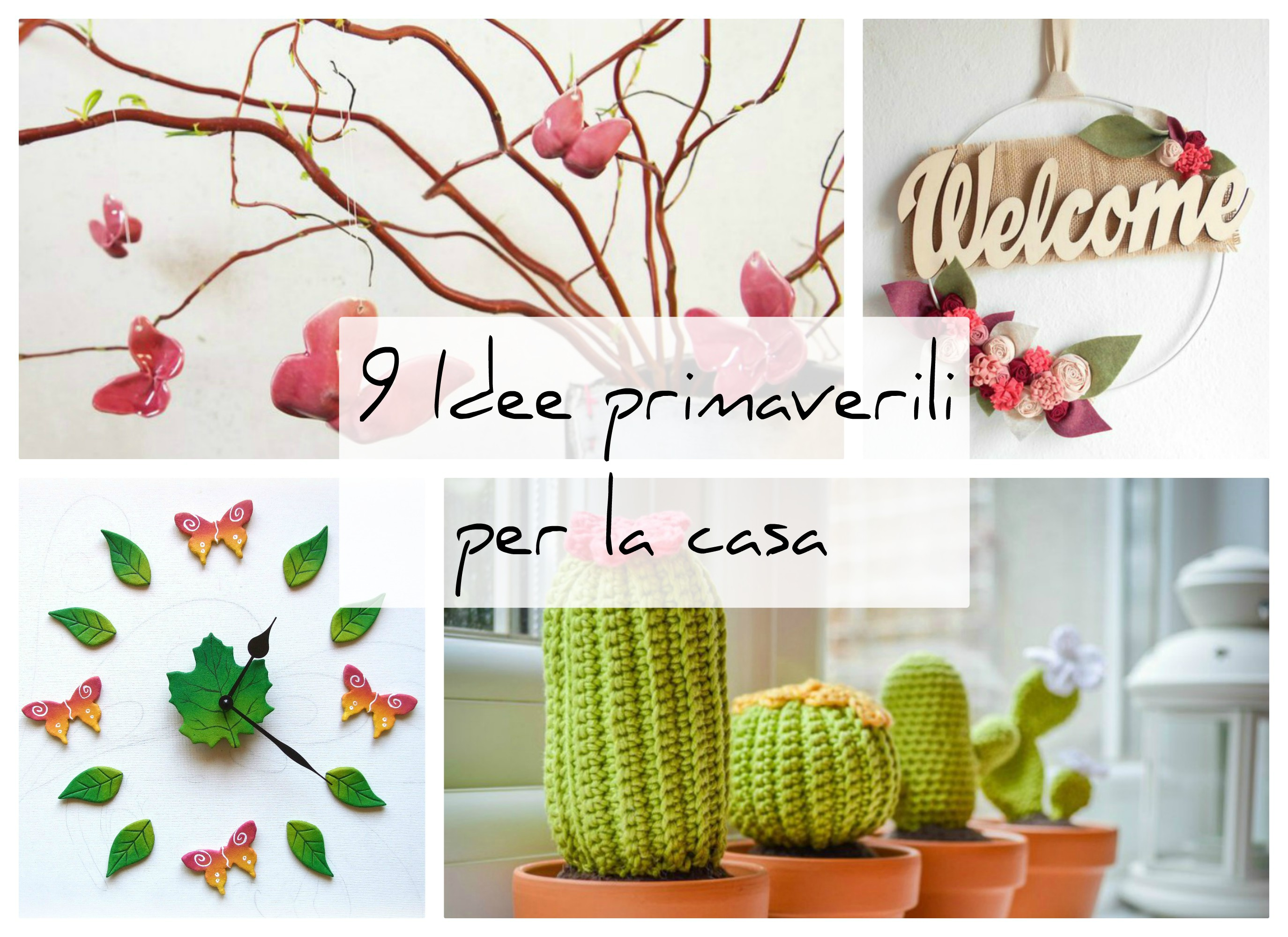 decorare casa in primavera