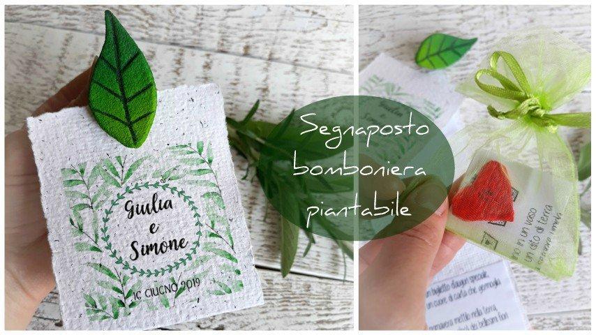 Bomboniera piante aromatiche