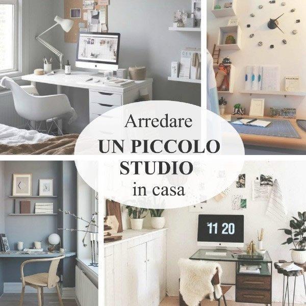 15 idee per creare un piccolo studio in casa
