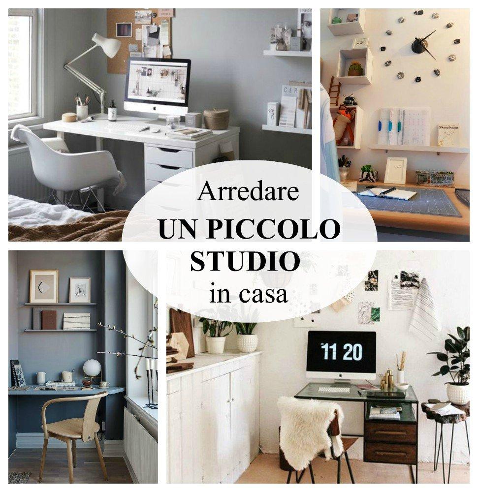 idee piccolo studio in casa