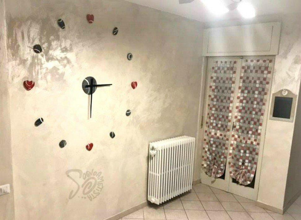 orologio da parete adesivo cuori
