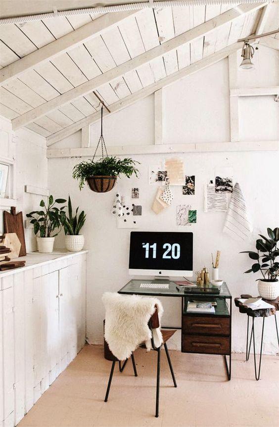 ufficio in cucina