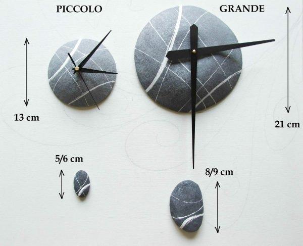 dimensioni centro orologio effetto pietra